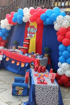 Paw Patrol Birthday Party Ideas | Photo 9 of 12 | Catch My Party