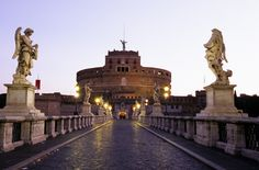 Ponte Sant'Angelo and Castel Sant'Angelo, Rome
