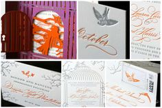 Carter and Fred Botanical Wedding Invitations by Ceci New York