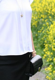 Tall Girl's Fashion // Styling A Sporty Skirt