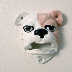 bulldog bottle opener, by Monkey & Squirrel
