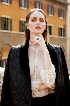 Harper's Bazaar Kazakhstan April 2017 Ieva Zemite by Federico Barbieri