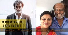 #Rajinikanth meets lady #Kabali #SuperstarRajinikanth #LadyKabali