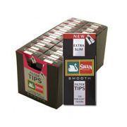 Προσφορά Buy & Win Swan extra slim smooth (μαύρα)φιλτράκια πακέτο 20 τεμαχίων :: myperiptero.gr