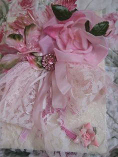 Beautiful Vintage Pink Millinery Photo Album