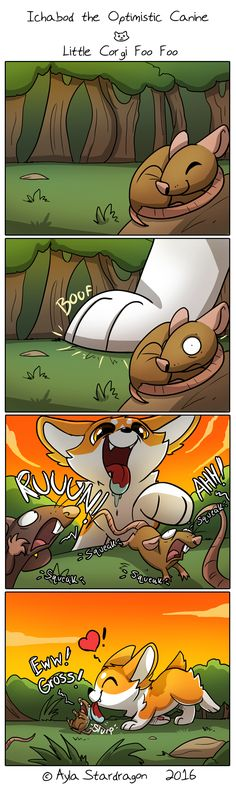 Ichabod the Optimistic Canine :: Little Corgi Foo Foo | Tapastic Comics - image 1