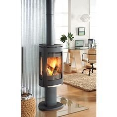 Jotul F 370 Wood Stove - Wood Stove - Wood Burning Fireplaces - Fireplaces