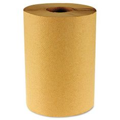 """Boardwalk : Hardwound Paper Towels, Nonperforated 1-Ply Kraft, 8"""" W, 2"""" Core, 800`/Roll -:- Sold as 2 Packs of - 6 - / - Total of 12 Each by Boardwalk. $80.66. Boardwalk : Hardwound Paper Towels, Nonperforated 1-Ply Kraft, 8"""" W, 2"""" Core, 800`/Roll  These one-ply paper towels are hardwound in rolls without perforations. For hand drying in commercial washrooms. Global Product Type: Towels & Wipes-Roll Towels; Towel/WipeType: Roll Towels; Application: Hand; Washrooms; Ap..."""