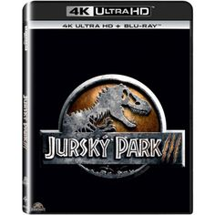 Blu-ray Jurský Park III, Jurassic Park III, UHD + BD, CZ dabing | Elpéčko - Predaj vinylových LP platní, hudobných CD a Blu-ray filmov Sci Fi Fantasy, Jurassic Park