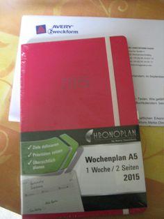 Chronobook Colour Edition für Avery-Zweckform getestet,Im Blog.