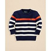 Ralph Lauren Childrenswear Boys' Striped Sweater - Sizes 2-7