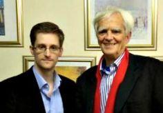 31-Oct-2013 21:53 - SNOWDEN SCHRIJFT MERKEL OVER TAP. Een Duitse parlementariër heeft in Moskou gesproken met Edward Snowden. Hij zegt dat hij van hem een brief heeft gekregen voor de Duitse regering. De Amerikaanse klokkenluider zou meer informatie hebben voor bondskanselier Merkel over het aftappen van haar telefoon door de Amerikaanse inlichtingendienst NSA. Hans-Christian Ströbele van de Groenen plaatste op Twitter een foto van hemzelf met Snowden. Hij zegt dat hij morgen, als hij...
