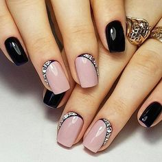 70 + Cute Simple Nail Designs 2017 - style you 7 Cute Simple Nails, Simple Acrylic Nails, Easy Nail Art, Cute Nails, Sexy Nails, Cute Easy Nail Designs, Colorful Nail Designs, Acrylic Nail Designs, Acrylic Tips