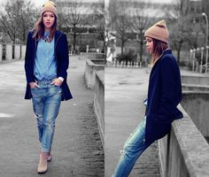 Colours in grey (by Dominique B.) http://lookbook.nu/look/4311949-colours-in-grey