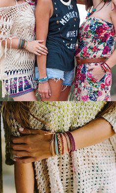 Festival Fashion Accessories - Pura Vida Bracelets