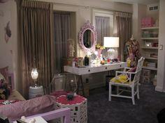 Jugendzimmer Mädchen Ideen Hanna Schminktisch Weiß Tischleuchten #pretty  #girls