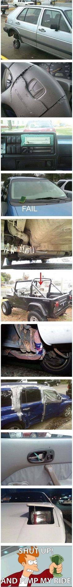 Car Reparation Fails  - www.meme-lol.com