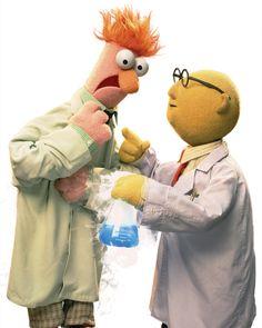 A beaker for Beaker Dr. Bunsen Honeydew and Beaker
