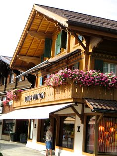 How FUN is this Louis Vuitton store in beautiful Gstaad Switzerland???