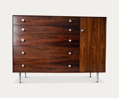Modern auction for midcentury furniture: George Nelson cabinet