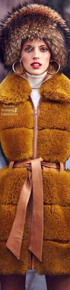 Devon Windsor –  Winter Coats 2017 for Harper's Bazaar Kazakhstan