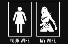 Wonder Woman Your Wife My Wife Superhero T-Shirt