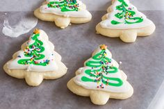 Make the perfect cut out sugar cookies every time without chilling the dough! Our recipe makes a soft cookie that's sturdy enough for icing! Sugar Cookie Recipe No Chill, Sugar Cookie Glaze, Christmas Sugar Cookie Recipe, Easy Cookie Recipes, Cookie Desserts, Icing Recipes, Christmas Recipes, Christmas Cookies, Dessert Recipes