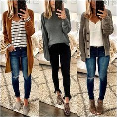 Winter Fashion Trends 2020 for Casual Outfits Perfect Fall Outfit, Casual Fall Outfits, Fall Winter Outfits, Autumn Winter Fashion, Cute Outfits, Winter Clothes, Layering Clothes Fall, Cute Fall Clothes, Hipster Fall Outfits