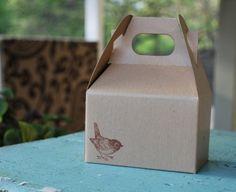 favor boxes- adorable