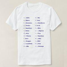 The Greek alphabet T-Shirt #greek #language #word #cool #unique #TShirt Black Faux Leather Jacket, Faux Leather Jackets, Omega, Learn Greek, Foreign Words, Greek Language, Greek Alphabet, Anniversary Quotes, Love Messages