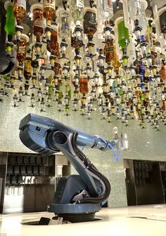What's your poison? Quantum of the Seas boasts robot bartenders, the first of their kind anywhere in the world
