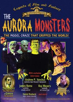 Aurora monster model kits are definitive collectibles for monster kids of the and featuring the classic monsters, these kits are beloved Monster Toys, Monster Party, Plastic Model Kits, Plastic Models, Famous Monsters, Scary Monsters, Vintage Halloween Decorations, Classic Monsters, Creature Feature