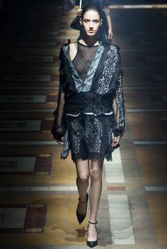 Lanvin spring/summer 2015 collection - Paris fashion week