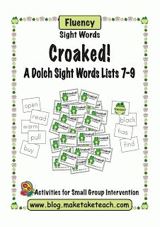 Classroom Freebies: A Fun Spring Sight Word Freebie!