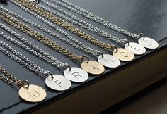 Initial Charm Necklace, http://www.pinterest.com/emmagangbar/boards/