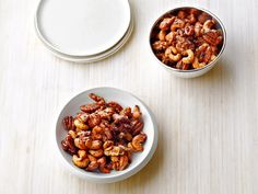 Chipotle and Rosemary Roasted Nuts Recipe : Ina Garten : Food Network - FoodNetwork.com
