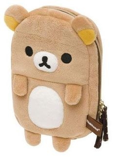 Rilakkuma Plushies Case $14.50 http://thingsfromjapan.net/rilakkuma-plushies-case/ #rilakkuma stuff #san x products #kawaii Japanese items