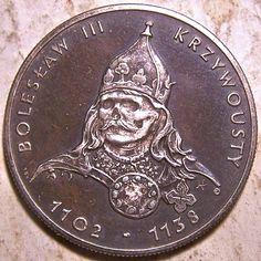 JOHN HUGHEY HOBO COIN - POLISH RULERS SERIES COMMEMORATIVE COIN