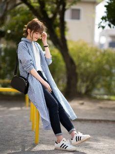 Korean Fashion Trends, Korean Street Fashion, Korea Fashion, Japan Fashion, Modest Fashion, Hijab Fashion, Girl Fashion, Fashion Outfits, 80s Fashion