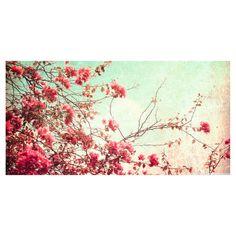 Çiçekler Dekoratif Kanvas Tablo 40x100 cm 40 TL