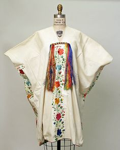 Ensemble Date: mid-20th century Culture: Mexican Medium: cotton, wool, silk, leather