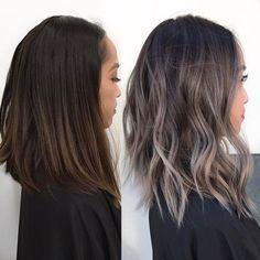 Bildergebnis für ash grey brown hair