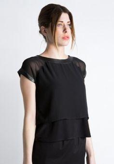 T-shirt - Black/Chiffon BUY IT NOW ON www.dezzy.it!