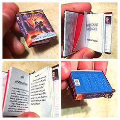 The House of Hades Mini Book << IT'S LIKE A LITTLE BABY I NEED IT