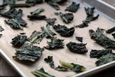 Salt and vinegar kale chips (I keep seeing these on all the health blogs so I think I have to try them)