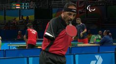 Playing Table Tennis without any hands at the 2016 Paralympics