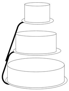 floating tier rounds Design Your Own Cake, Cake Sketch, Cake Drawing, Cake Templates, How To Make Frosting, Cake Sizes, Cake Factory, Cake Business, Shape Patterns