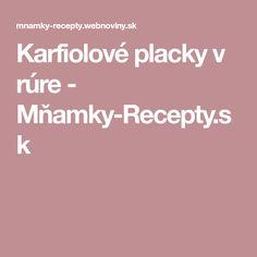 Karfiolové placky v rúre - Mňamky-Recepty.sk