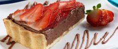 Foto - Receita de Torta de Nutella® e morango