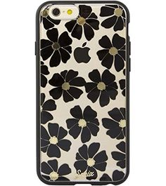 Sonix Cell Phone Case for iPhone - Retail Packaging - Wildflower Black Cell Phone Cases, Iphone Cases, Iphone 6, Retail Packaging, Kids Rugs, Shopping, Black, Kid Friendly Rugs, Black People